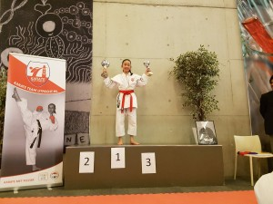 Karate Team Utrecht - Allround Clubkampioen Lisa Wu