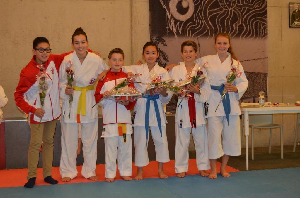 Karate Team Utrecht - Prijswinnaars NK Karate 2015