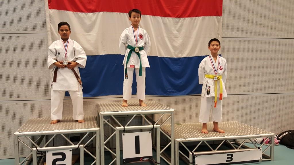 Karate Team Utrecht - Nederlands Kampioenschap Shotokan 2016