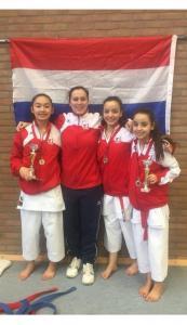 Karate Team Utrecht - Internationaal actief